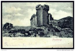 FINALBORGO  ( Savona ) CASTELLO GAVONE - Viaggiata 1901 - Italy