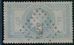 France N° 33 Oblitéré Signé, Petit Chiffre 3734 Philippeville TB - 1863-1870 Napoleon III With Laurels