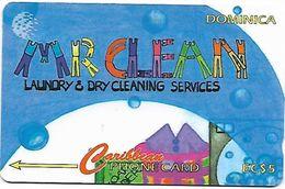 @+ Dominique - Mr Clean - 10CDMA... 5000ex - Ref : DOM-10A - Dominica