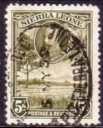 SIERRA LEONE 1932 SG #161 5d Used - Sierra Leone (...-1960)