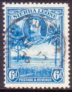 SIERRA LEONE 1932 SG #162 6d Used - Sierra Leone (...-1960)