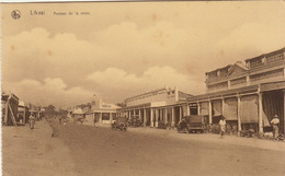 Carte Postale Congo Likasi Avenue De La Mine - Congo Belga - Altri