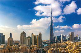 DUBAI Carte Postale Gd Format 17 Sur 12, ( Circulé ) Rec Verso - Emirats Arabes Unis