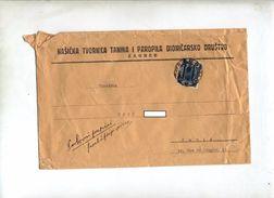 Lettre Cachet Prague Sur Roi - 1919-1929 Königreich Der Serben, Kroaten & Slowenen