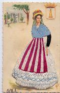 CP - Folklore Kostum Kleed Rok - Avila Del Rey - Brodé - Trachten