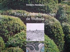 Parcs Et Jardind Historiques De Wallonie Namur Sambreville Mettet Fosses - La - Ville Eghezée Gesves Jemeppe -Année 2001 - Cultura