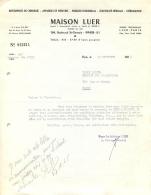 MAISON LUER 104 BD SAINT GERMAIN PARIS 1965 - 1950 - ...