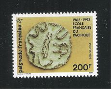 POLINESIA FRANCESE - 1993:  Valore Nuovo S.t.l. Da 200 F.- 30° ANNIV. SCUOLA FRANCESE DEL PACIFICO-in Ottime Condizioni. - Polinesia Francese