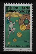 MEXIQUE  N°  871  * *  Football  Soccer Fussball Université Ballon Basket Tennis Hand Ball - Soccer