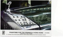 Postcard - Rolls - Royce - Phantoms For The Peninsula Hong Kong - 14th Dec 06 New - Cartes Postales