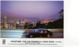 Postcard - Rolls - Royce - Phantoms For The Peninsula Hong Kong - 14th Dec 06 No.3 New - Cartes Postales