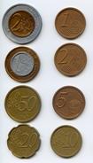 """Monnaies Scolaires """"EUROS""""  Allemagne Série Complète - Specimen"""