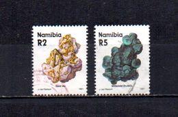Namibia   1991  .-  Y&T  Nº   653/654 - Namibia (1990- ...)