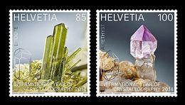 Switzerland 2014 Mih. 2334/35 International Year Of Crystallography MNH ** - Ongebruikt