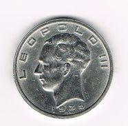 I  LEOPOLD III  50 FRANK   1939 B FR/VL  POSITIE B - 1934-1945: Leopold III