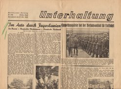 Journal UNTERHALTUNG - Dortmunder Zeitung N°476 - Drittes Blatt Sonnabend. Den 12.10.1935 - 2 Pages - Revues & Journaux