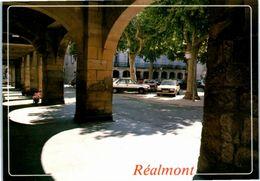 81 REALMONT La Charmante - Place De La République (automobiles, Renault, Citroen , Peugeot) - Realmont