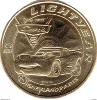 77 DISNEYLAND PARIS CARS LIGHTVEAR  DISNEY MÉDAILLE MONNAIE DE PARIS 2015 JETON TOKEN MEDALS COINS - Monnaie De Paris