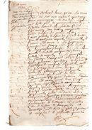 PIERRE BOIDIN.La Chagnelle,Gourgé.6 Pages.19 Mars 1670. - Documents Historiques