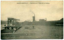 76 GRAND-QUEVILLY ++ Appontements Et Usine De La Cellulose ++ - Le Grand-Quevilly