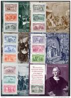 USA 1992 Christopher Columbus, Ships, 500th Anniversary Of Discovery Of America Set Of 6 S/s MNH - Christopher Columbus