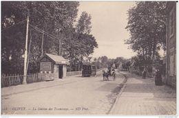 45 OLIVET LA STATION DES TRAMWAYS CPA BON ÉTAT - France