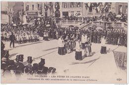 45 ORLEANS LES FETES DE JEANNE ARC CELEBRATION DU 480e CPA BON ÉTAT LEGER PLI - Orleans