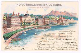CH-4593   LUCERNE : Hotel Schweizerhof - LU Lucerne