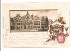 Frankfurt. Römer. Präge Wappen Karte. - Frankfurt A. Main