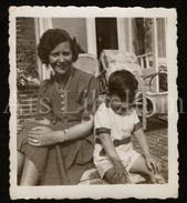 Photo Ancien / Foto / Boy / Garçon / Lena Van Bueren / Badhuisweg 22 A / Scheveningen / Nederland / Femme / Woman - Personnes Identifiées