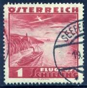 Oostenrijk 1935, Austria, Autriche, Osterreich, Airmail, Flugpost, Mi 608, YT PA 42 - 1918-1945 1ste Republiek