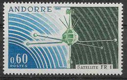 1966 ANDORRE Français 177** Satellite - Andorre Français