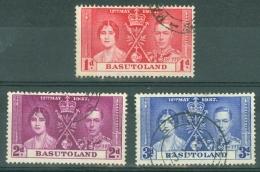 Basutoland: 1937   Coronation    Used - Basutoland (1933-1966)