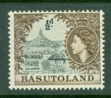 Basutoland: 1954/58   QE II - Pictorial   SG43   ½d    Used - 1933-1964 Kronenkolonie