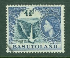 Basutoland: 1954/58   QE II - Pictorial   SG47   4½d    Used - 1933-1964 Kronenkolonie