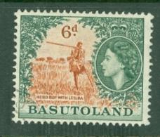 Basutoland: 1954/58   QE II - Pictorial   SG48   6d    Used - 1933-1964 Kronenkolonie