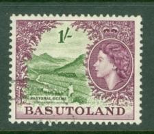 Basutoland: 1954/58   QE II - Pictorial   SG49   1/-    Used - 1933-1964 Kronenkolonie