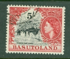 Basutoland: 1954/58   QE II - Pictorial   SG52   5/-   Used - Basutoland (1933-1966)