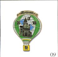 PIN'S Montgolfière - Ballon 80 Ans Eglise St Jean Baptiste à Gerseaux (Belgique). Non Est. Métal Peint. T557-09 - Airships