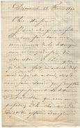 VP11.775 - Noblesse - LAS - Lettre De Mr Le Marquis Du FOUREAU DE LA TOUR - Autographs