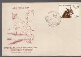 PANTHER  LINX, COVER SPECIAL ROMANIA ALBA IULIA 1982, CARPATHIAN LYNX 'PANTHER' - Tarjetas – Máximo