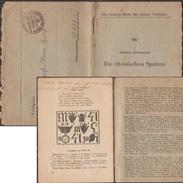 Allemagne 1941. Livret De Franchise Militaire. Les Moineaux Rhénans. Rébus. Humbolt, Mains, Raisins, Horloge - Moineaux
