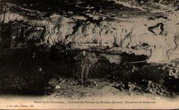 73 - Massif De La Chartreuse - Intérieur Des Grottes Des Echelles - Dentelures De Stalactites - France