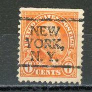 USA : -  PREO - N° Yvert 233 Obli.  NEW YORK  N.Y. - Préoblitérés