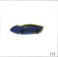 PIN'S Automobile - Lola Cars (GB) Modèle T70 (1965-70). Estampillé Ballard. Zamac. T558-01 - Unclassified