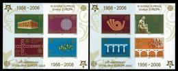 Serbia And Montenegro 2005: 50th Anniversary Of The First EUROPA Stamps;  2 Souvenir Sheets Imperforated ** MNH - Serbie