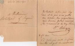 VP11.778 - Noblesse - LAS - Lettre De Mme La Baronne De ARLOQUE - Autographs