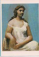 Picasso  Dame Assise En Chemise 1923 - Schilderijen