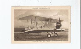 AVION TAXI C A F . 2 OU 3 PLACES .COMPAGNIE AERIENNE FRANCAISE - 1919-1938