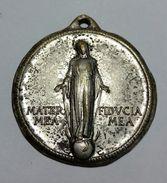 MEDAGLIA - PIO XII 40° ANNIVERSARIO Della Gioventú Femmiline Azione Cattolica Italiana (1918-1958) Metallo Bianco / 27mm - Gettoni E Medaglie